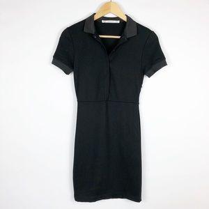 Zara Trafaluc Black Polo Dress Size XS